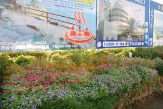 焼津市花の会様 花壇の土づくり